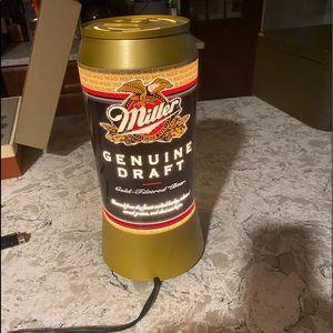 Miller genuine draft lighted sign